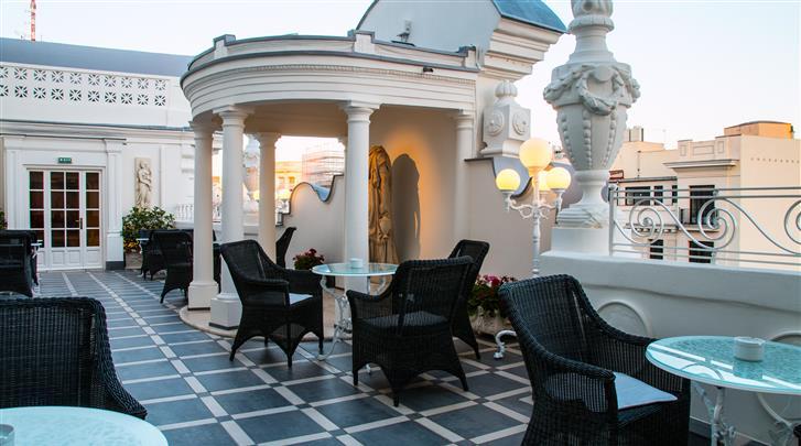 Madrid, Hotel Atlantico , Terras