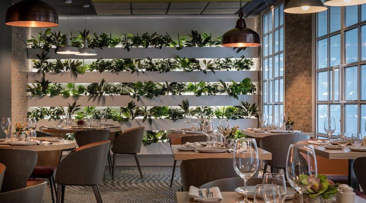 Madrid, Hotel Catalonia Gran Via, Restaurant