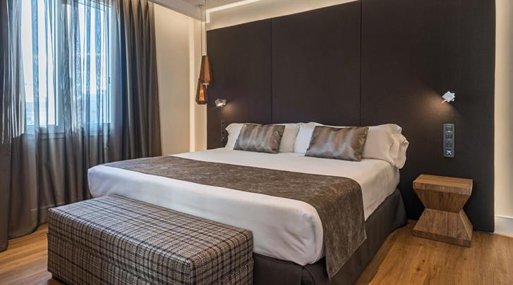 Madrid, Hotel Catalonia Gran Via, Standaard kamer