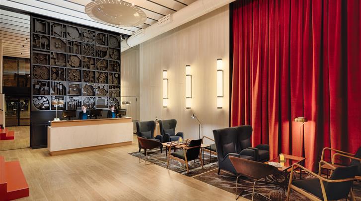 Madrid, Hotel H10 Puerta de Alcalá, Receptie