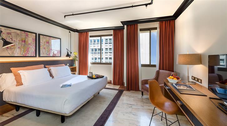 Madrid, Hotel H10 Tribeca, Standaard kamer