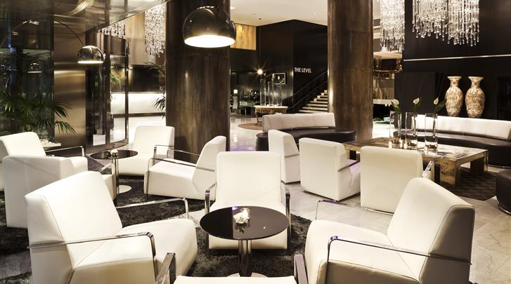 Madrid, Hotel Melia Madrid Princesa, Lounge