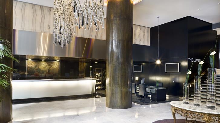 Madrid, Hotel Melia Madrid Princesa, Receptie