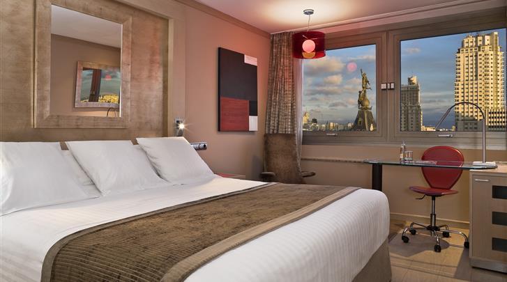 Madrid, Hotel Melia Madrid Princesa, Standaard kamer