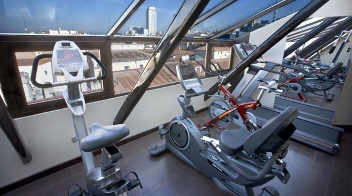 Madrid, Hotel Opera, Fitness