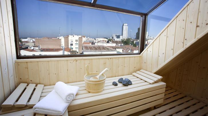 Madrid, Hotel Opera, Sauna