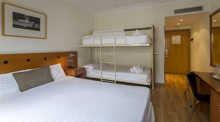 Madrid, Hotel Petit Palace Cliper, Familiekamer