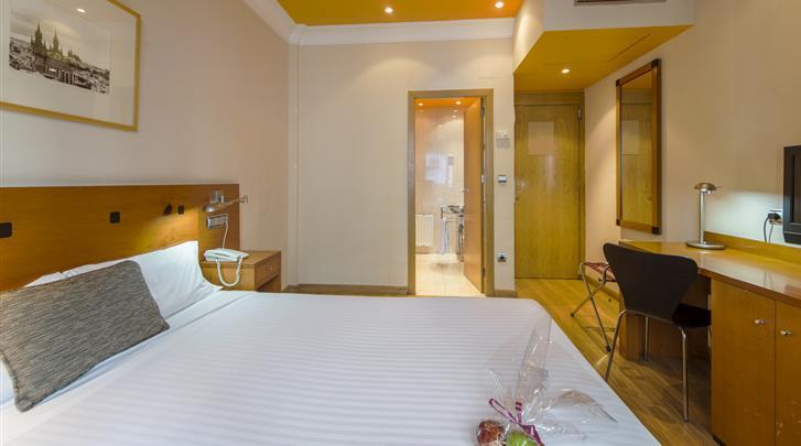 Madrid, Hotel Petit Palace Cliper, Standaard kamer
