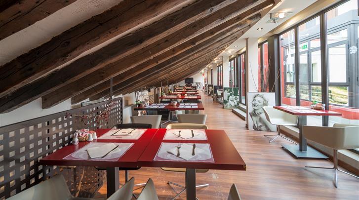 Madrid, Hotel Petit Palace Preciados, Ontbijtrestaurant