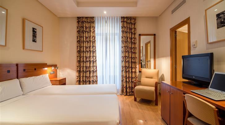 Madrid, Hotel Petit Palace Preciados, Standaard kamer