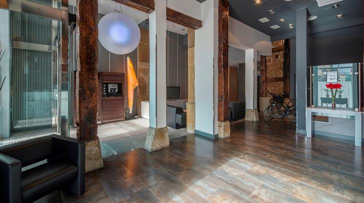 Madrid, Hotel Petit Palace Plaza del Carmen, Lobby