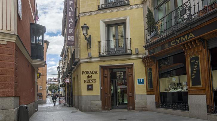 Madrid, Hotel Petit Palace Posada del Peine