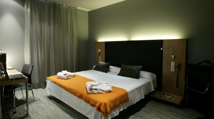 Madrid, Hotel Petit Palace Tres Cruses, Standaard kamer