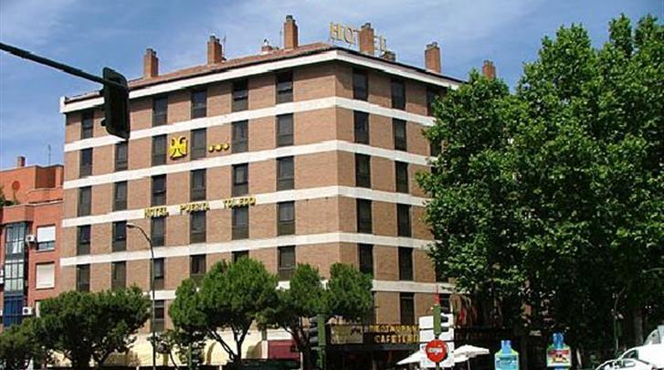 Madrid, Hotel Puerta de Toledo, Façade hotel
