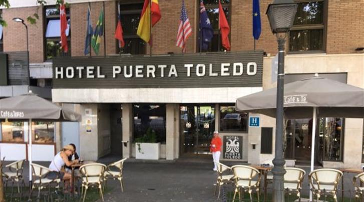 Madrid, Hotel Puerta de Toledo, Terras