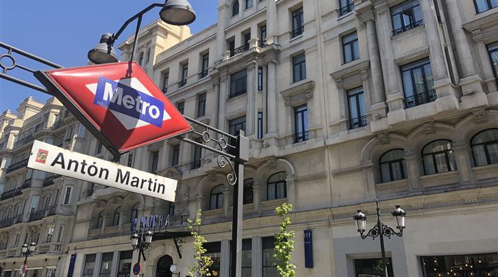 Madrid, Hotel Tryp Atocha, Façade hotel