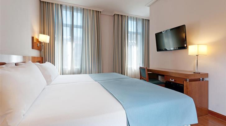 Madrid, Hotel Tryp Atocha, Standaard kamer