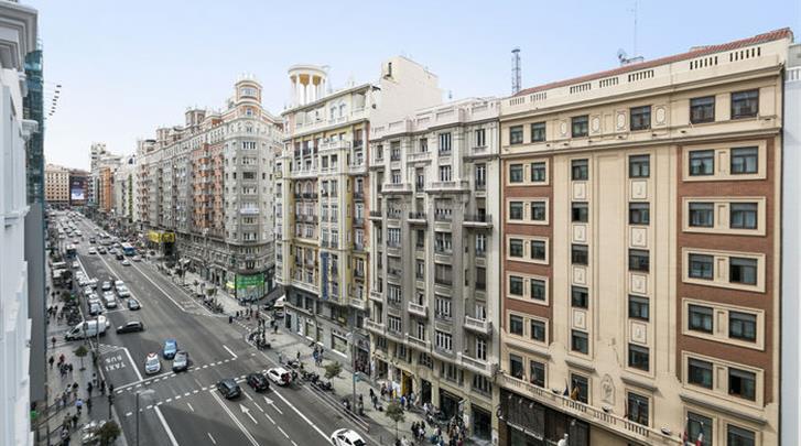 Madrid, Hotel Tryp Madrid Plaza Espana