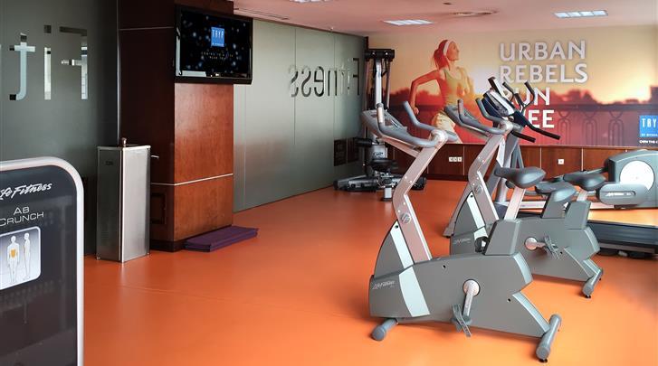 Madrid, Hotel Tryp Madrid Centro, Fitnessruimte