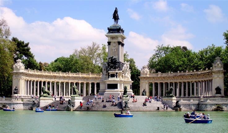 Madrid, Parque del Retiro