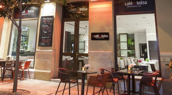 Málaga, Hotel Molina Lario, Façade hotel