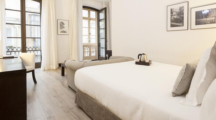 Málaga, Hotel Molina Lario, Superior kamer