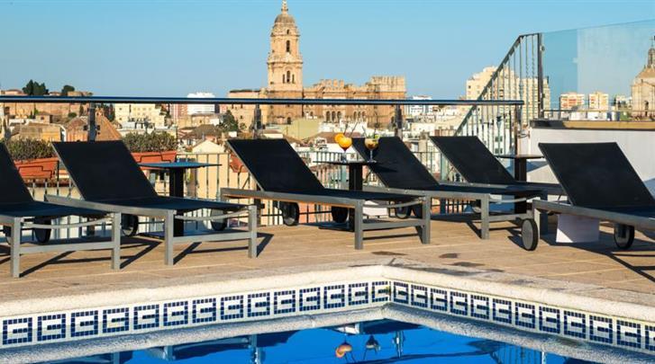 Málaga, Hotel Salles Malaga Centro