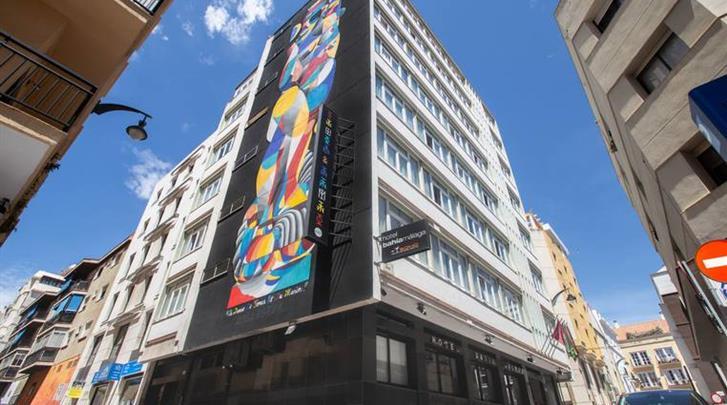 Málaga, Hotel Soho Bahia, Façade hotel