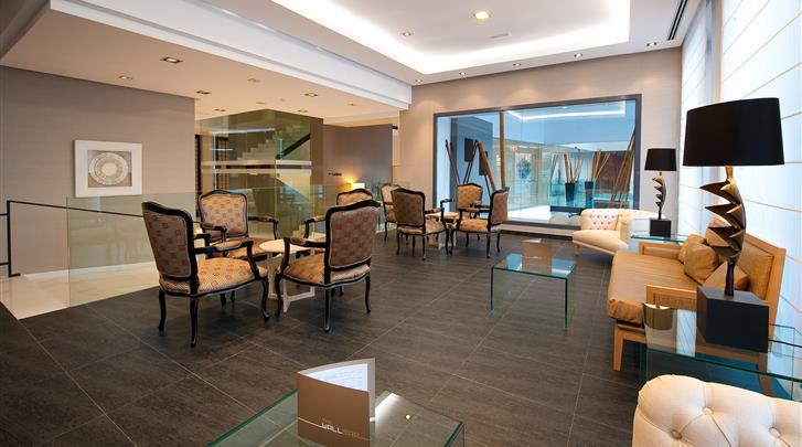 Málaga, Hotel Vincci Posada del Patio, Lobby
