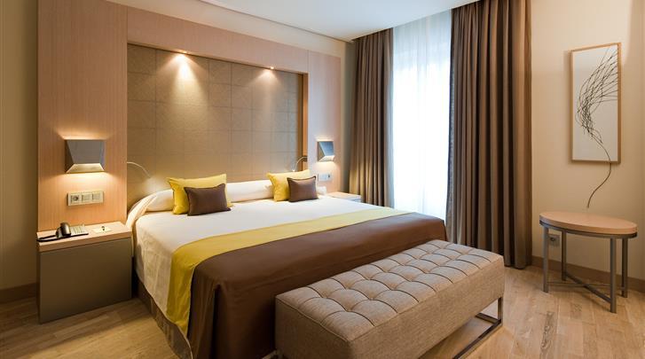 Málaga, Hotel Vincci Posada del Patio, Standaard kamer