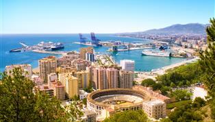 Málaga, Malaga stedentrip