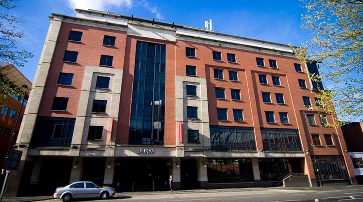 Manchester, Hotel Jurys Inn Manchester, Façade hotel