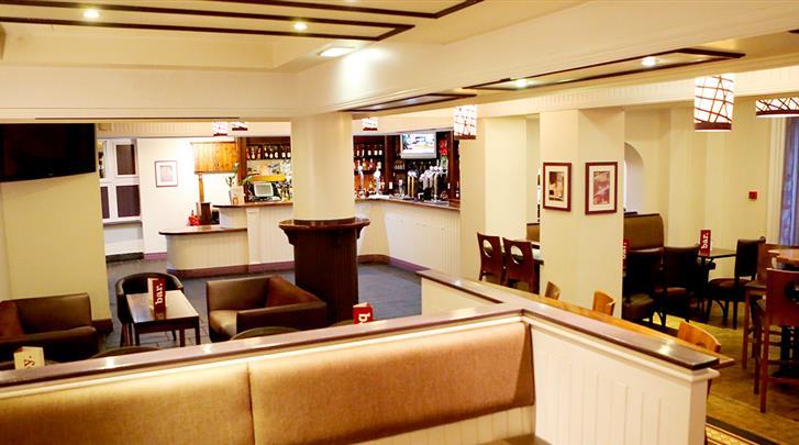 Manchester, Hotel Jurys Inn Manchester, Hotel bar