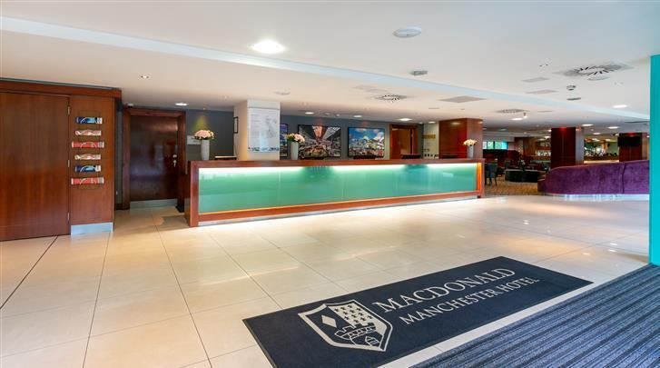 Manchester, Hotel Macdonald Manchester, Receptie