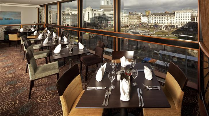 Manchester, Hotel Mercure Manchester Piccadilly, Restaurant