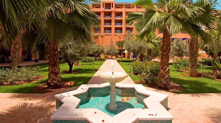 Marrakech, Hotel Atlas Medina & Spa, Binnentuin