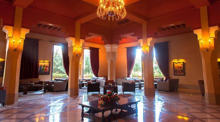 Marrakech, Hotel Atlas Medina & Spa, Lounge