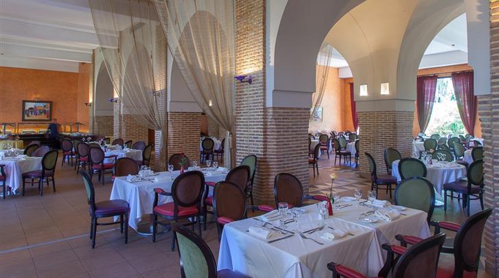 Marrakech, Hotel Atlas Medina & Spa, Restaurant