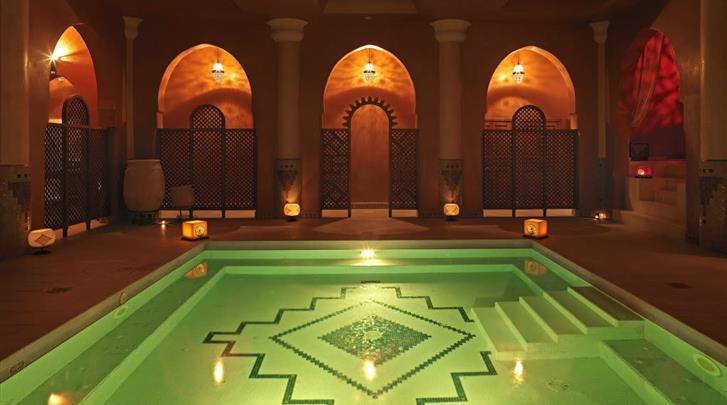 Marrakech, Hotel Atlas Medina & Spa, Spa met zwembad