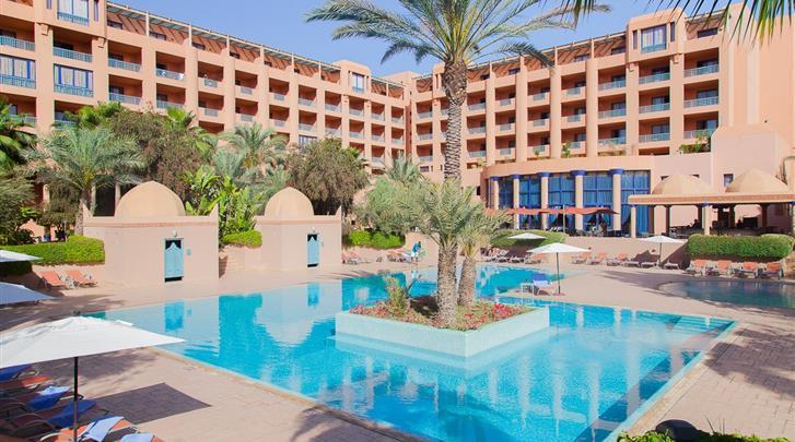 Marrakech, Hotel Atlas Medina & Spa, Zwembad
