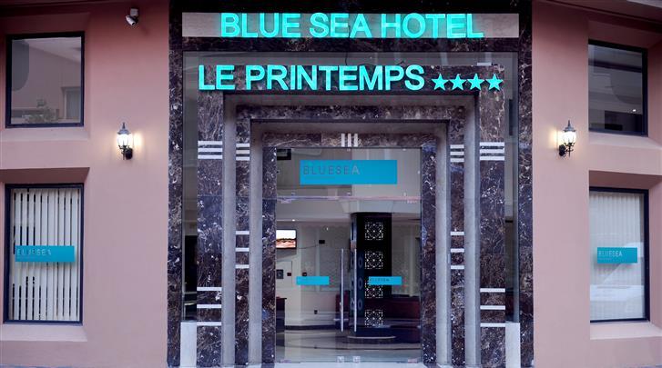 Marrakech, Hotel Blue Sea Le Printemps, Façade hotel