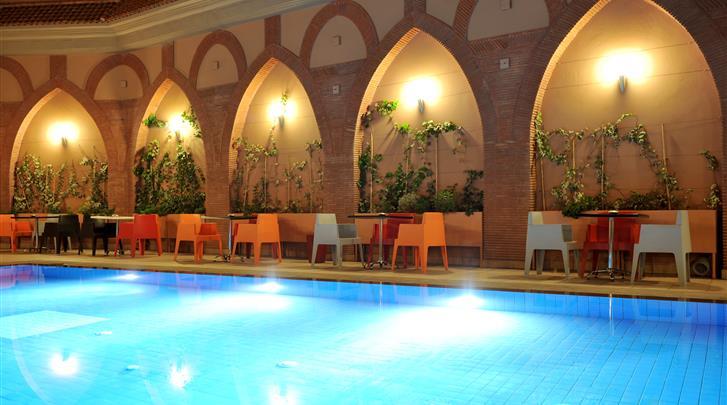 Marrakech, Hotel Blue Sea Le Printemps, Zwembad