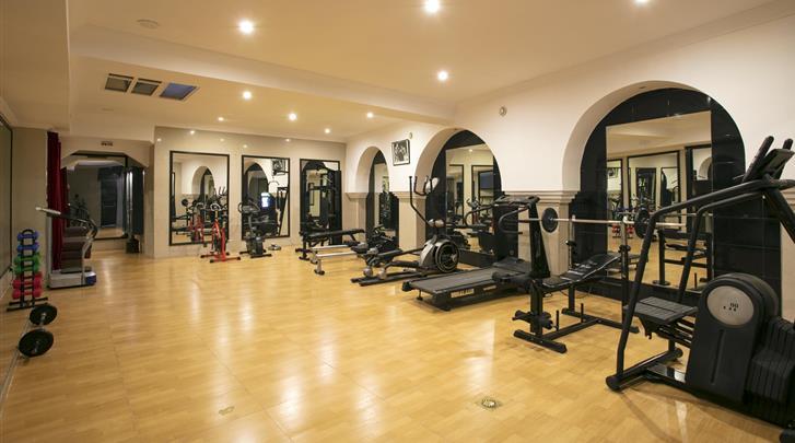 Marrakech, Hotel Diwane & Spa, Fitnessruimte