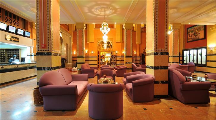 Marrakech, Hotel Diwane & Spa, Lobby