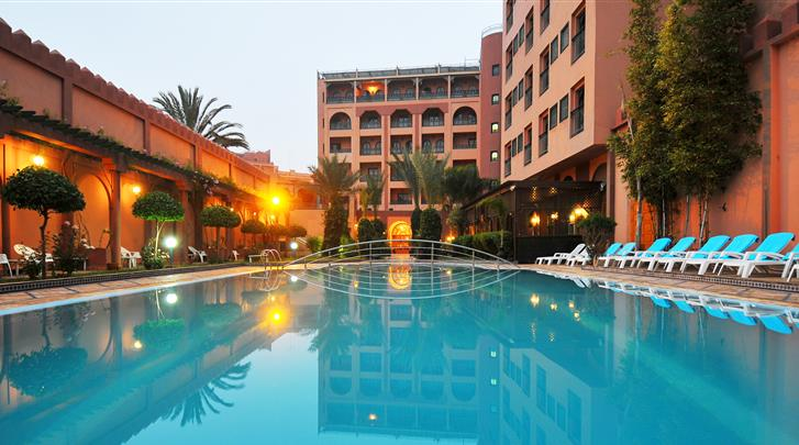 Marrakech, Hotel Diwane & Spa, Zwembad