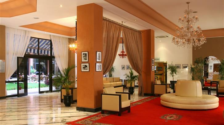 Marrakech, Hotel Meriem, Lobby