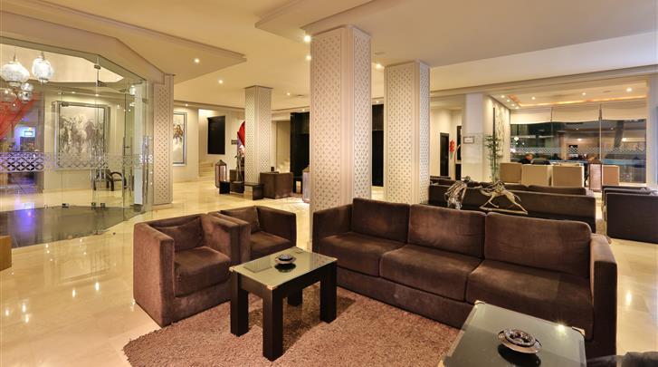 Marrakech, Hotel Opera Plaza, Lobby