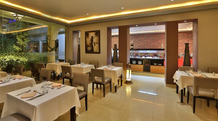 Marrakech, Hotel Opera Plaza, Restaurant