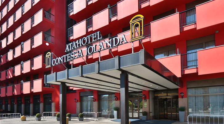 Milaan, Atahotel Contessa Jolanda, Façade hotel
