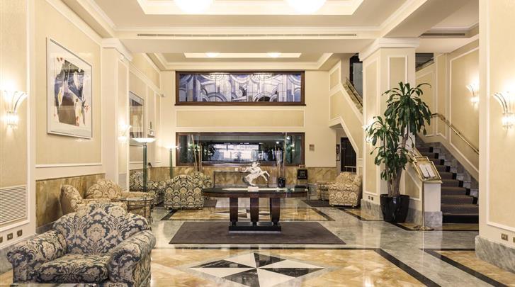 Milaan, Hotel Doria Grand, Lobby